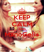 KEEP CALM AND ManoGelis  - Personalised Poster A4 size