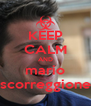 KEEP CALM AND mario scorreggione - Personalised Poster A4 size