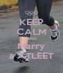KEEP CALM AND Marry a ATLEET - Personalised Poster A4 size