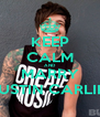KEEP CALM AND MARRY AUSTIN CARLILE - Personalised Poster A4 size
