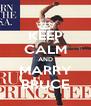 KEEP CALM AND MARRY BRUCE - Personalised Poster A4 size