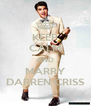 KEEP CALM AND MARRY DARREN CRISS - Personalised Poster A4 size