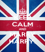 KEEP CALM AND MARRY HARRY. - Personalised Poster A4 size