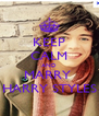 KEEP CALM AND MARRY  HARRY STYLES - Personalised Poster A4 size
