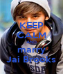KEEP CALM AND marry Jai Brooks - Personalised Poster A4 size