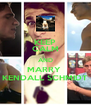 KEEP CALM AND MARRY  KENDALL SCHMIDT - Personalised Poster A4 size