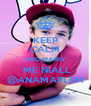 KEEP CALM AND MARRY  ME NIALL @ANAMAPLEM - Personalised Poster A4 size