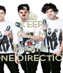 KEEP CALM AND MARRY ONE DIRECTION - Personalised Poster A4 size