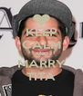 KEEP CALM AND MARRY TITA - Personalised Poster A4 size