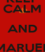 KEEP CALM AND MARUEL SKATER - Personalised Poster A4 size