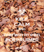 KEEP CALM AND marwin in een POEPRUIMER - Personalised Poster A4 size