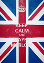 KEEP CALM AND MAYBE MARLOW - Personalised Poster A4 size