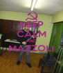 KEEP CALM AND MAZZOLI  - Personalised Poster A4 size