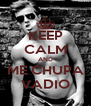 KEEP CALM AND ME CHUPA VADIO - Personalised Poster A4 size