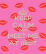 KEEP CALM AND MEET ME AT IIEST - Personalised Poster A4 size