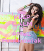 KEEP CALM AND #MeL Fonckowiak - Personalised Poster A4 size
