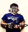 KEEP CALM AND MEU DEUS COMO É LINDO - Personalised Poster A4 size