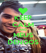 KEEP CALM AND MEUS DENGOS - Personalised Poster A4 size