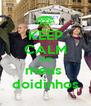 KEEP CALM AND meus  doidinhos - Personalised Poster A4 size