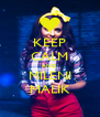 KEEP CALM AND MILENI MALIK - Personalised Poster A4 size