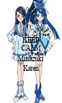 KEEP CALM AND Minazuki Karen - Personalised Poster A4 size