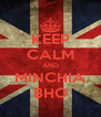 KEEP CALM AND MINCHIA BHO - Personalised Poster A4 size