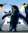 KEEP CALM AND Mingle  - Personalised Poster A4 size