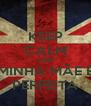 KEEP CALM AND MINHA MÃE É PERFEITA - Personalised Poster A4 size