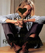 KEEP CALM AND miss River Phoenix - Personalised Poster A4 size