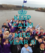 KEEP CALM AND MISS YEAR 5! - Personalised Poster A4 size
