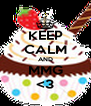 KEEP CALM AND MMG <3 - Personalised Poster A4 size