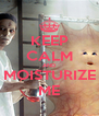 KEEP CALM AND MOISTURIZE ME - Personalised Poster A4 size