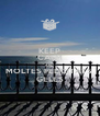 KEEP CALM AND MOLTES FELICITATS  GELES - Personalised Poster A4 size