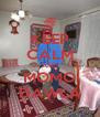 KEEP CALM AND MOMO DAWLA - Personalised Poster A4 size