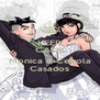 KEEP CALM AND Monica e Cebola Casados - Personalised Poster A4 size