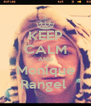 KEEP CALM AND Monique Rangel  - Personalised Poster A4 size