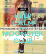 KEEP CALM AND MOONSTER CLUB - Personalised Poster A4 size