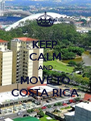 KEEP CALM AND MOVE TO COSTA RICA - Personalised Poster A4 size