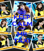 KEEP CALM AND MR TAXI - Personalised Poster A4 size