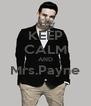 KEEP CALM AND Mrs.Payne  - Personalised Poster A4 size