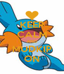 KEEP CALM AND MUDKIP ON - Personalised Poster A4 size