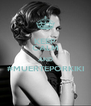 KEEP CALM AND #MUERTEPORKIKI  - Personalised Poster A4 size