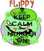 KEEP CALM AND MURDER ON - Personalised Poster A4 size