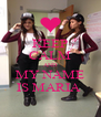 KEEP CALM AND MY NAME IS MARIA  - Personalised Poster A4 size
