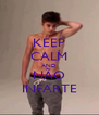 KEEP CALM AND NÃO INFARTE - Personalised Poster A4 size