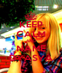 KEEP CALM AND NAME DYASYA - Personalised Poster A4 size