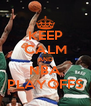 KEEP CALM AND NBA PLAYOFFS - Personalised Poster A4 size