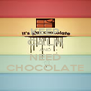 KEEP CALM AND NEED CHOCOLATE - Personalised Poster A4 size