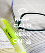 KEEP CALM AND NERD ON! ^ - Personalised Poster A4 size