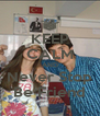 KEEP CALM AND Never Stop Be Friend - Personalised Poster A4 size